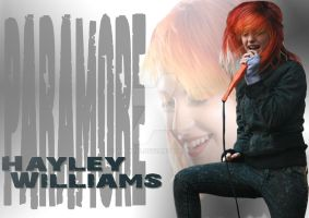 Hayley Williams of Paramore by alekzis