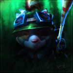 Captain Teemo by Bloodlash85