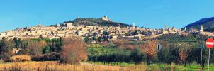 The City of Assisi - Panorama by Zirkky