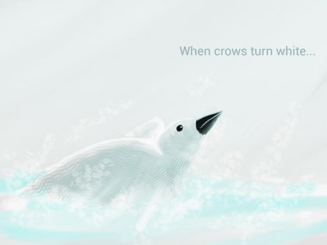 When crows turn white by xanderJake