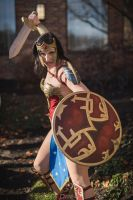 Ame-comi Wonder Woman by Shizuma-H