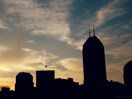 Downtown Indianapolis by BengalTiger4