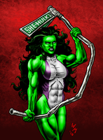 She-Hulk: Green by quibly