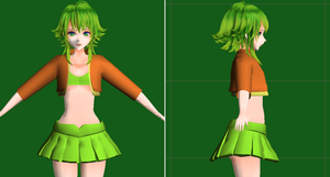 MMD - SELY GUMI V3 (PROJECT THROWN OUT) by Rayne-Ray