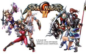 Soul Calibur IV Ladies Wall by BritTheMighty
