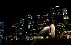 Merlion Park by 8xhx8