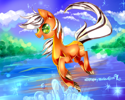 Commission: FilPaperSoul (MLP) by AquaGalaxy