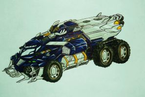 BFTE GALVATRON truck mode by kishiaku