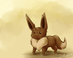 eevee by OrcaCookie