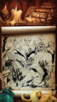 Discworld Sketches by DoctorGurgul