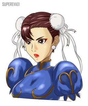Chun-li by supereva01