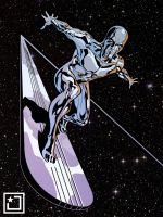 Silver Surfer by joshhood