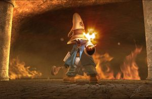 Vivi Fan Art Render 2 by John-Lozano