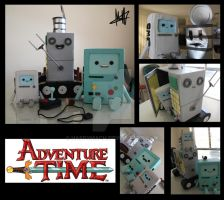 Bots of Adventure Time by Macherz