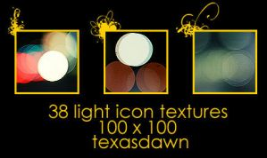Light Texture Icons by texasdawn