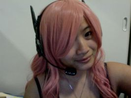 Magnet Luka wig and headphones by Super-Tofu