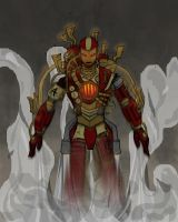 Steampunk Ironman by MALPart