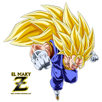 Vegetto Super Saiyan 3 by el-maky-z