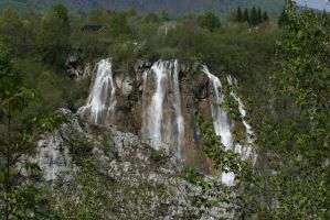 view to waterfalls by ingeline-art