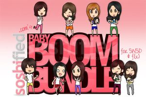 Baby Boom Bundle Sticker by soshified