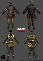 Enemy Front Character 01 by sankalp23
