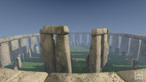 Blender - Stonehenge 12 by Ludo38