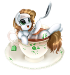 Comm: Tea Shower by pridark