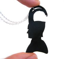 The Avengers Loki Necklace by ClayMyDay