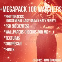 +MegaPack 100 Watchers by TimeOfOurLife