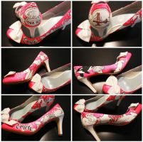 Custom Shoes- Erica by setsuna22