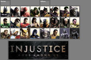 Official Injustice GAU as of 03-29-13 by xXKyraRosalesXx