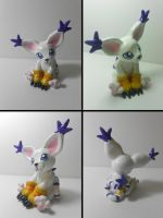 Gatomon Sculpture by Sara121089