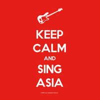 Keep Calm And Sing Asia by Luxembourg13
