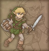 Young Link by AIBryce