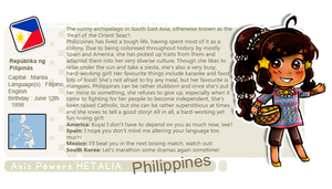 APH Philippines profile card! by melonstyle