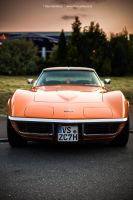 Orange C3 Stingray by AmericanMuscle