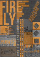Firefly Typography Poster v.2 by theramunefizz
