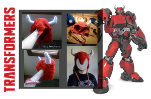Cliffjumper Crocheted hat by Arsevere