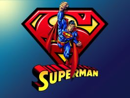 Superman Up and Away wp by Superman8193