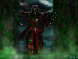 Ermac as Assassin by LetticiaMaer