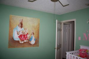 Beatrix Potter Wall Mural by Anvikit