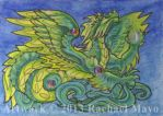 ACEO Dragon 30 by rachaelm5