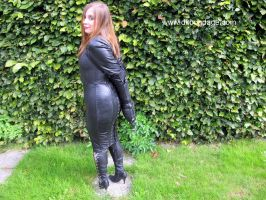 'thisgirl' Goes for a Walk in my Garden - 2 by BritBastard