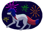 baby you're a firework by InuKii