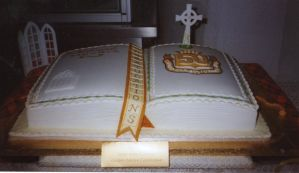 Golden Jubilee Cake by chefkemp