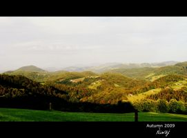 Hills in green by niwaj