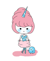 Cotton candy princess by roleholder