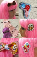 new clips 800th deviation by hellohappycrafts