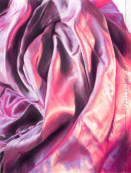Silk in Coloured pencils by hedspace77