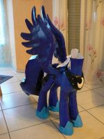 Projekt Princess Luna MLP Update 10 paint test by Znegil